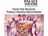 2 Fame Tickets Manchester Palace Theatre Saturday 28th July 2018