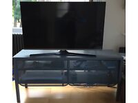 TV bench, dark grey, 122x55 cm - NITTORP by Ikea - As new