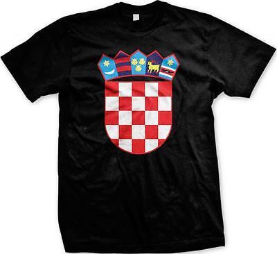 Croatia Coat Of Arms (Croatia Coat of Arms Republika Hrvatska Croatian Pride Mens T-shirt )