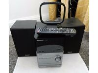 Panasonic Stereo System including radio, CD player, 2 speakers,remote control