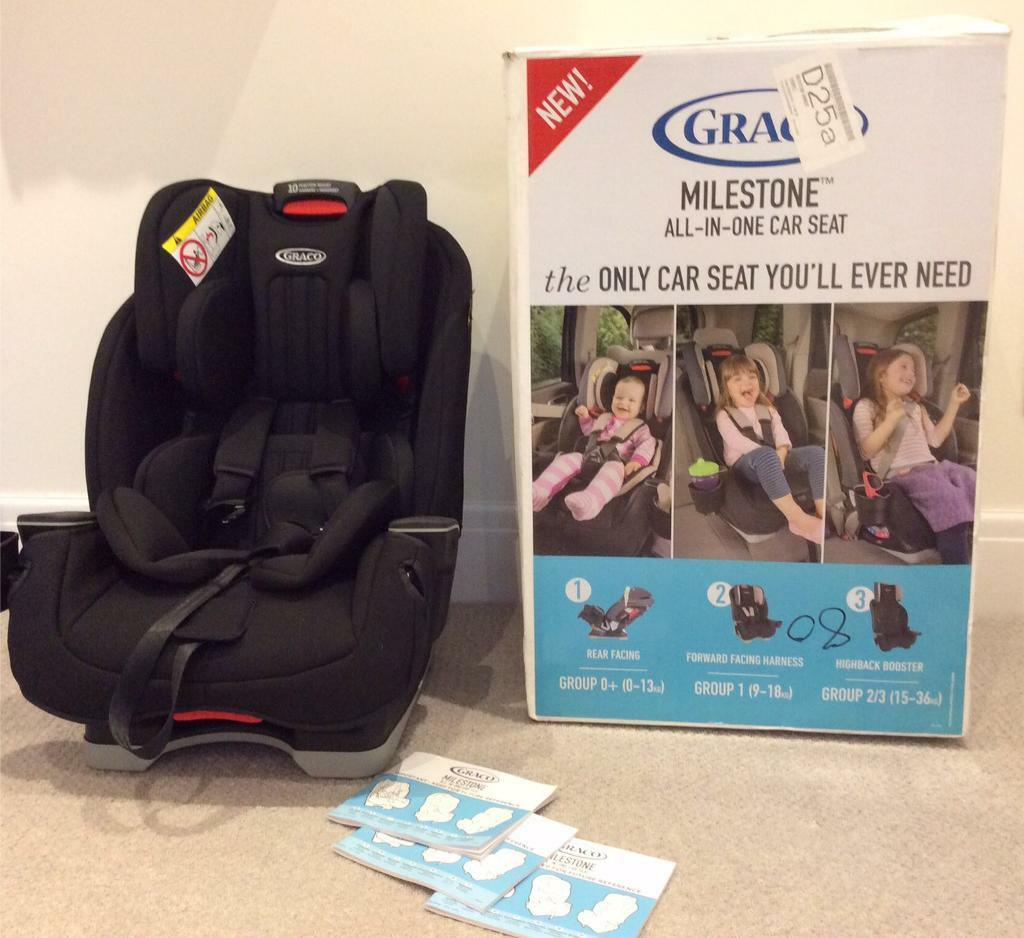 Graco Milestone All In One Car Seat Group 0 1