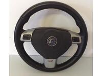 Vauxhall Astra VXR Steering Wheel.