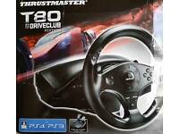 Thrustmaster T80 Driveclub Edition Steering Wheel PS3 PS4