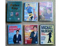 5 x STAND-UP COMEDIANS DVDs: John Bishop, Peter Kay & Michael McIntyre