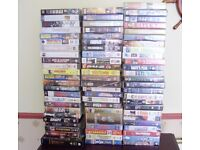 Video Collection, 72 VHS Videos Job Lot