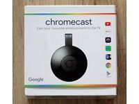 Google Chromecast - New version - boxed, used once