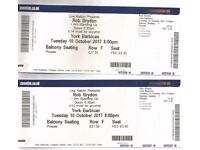 """Rob Brydon """"I Am Standing Up"""" tour - 2 xTickets for York Barbican 10th October 2017"""