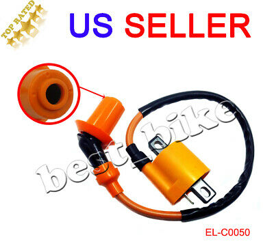 High Performance Ignition Coil for Yamaha Zuma II 50 CW50 97 98 99 00 01 Scooter