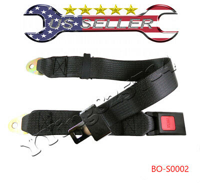 Adjustable Seat Belt Car Truck Lap Belt Universal 2 Point Safety Travel for sale  Shipping to South Africa
