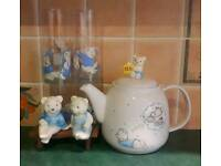 Set of Teddy Bear Kitchenware