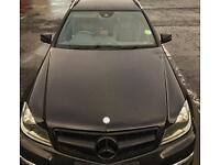 Mercedes Black Front Grille