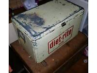 DIET RITE METAL Double Sided cooler box/ice box/chest