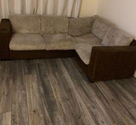 Lovely soft corner suite