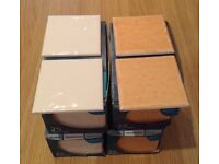 Ceramic wall tiles, 100 tiles in 4 boxes
