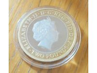 """2011 Royal Mint """" King James Bible 400th Anniversary """" PROOF £2 Two Pound Coin"""