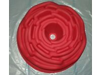 Rose silicon mould - new