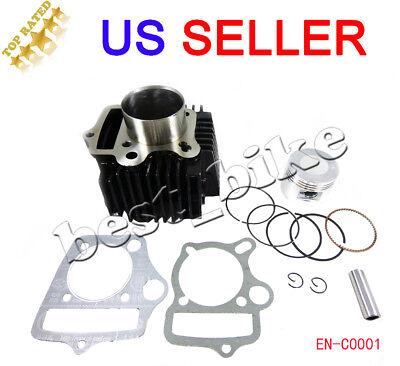 90 110cc 125cc Engine Cylinder w/ Head Gasket 52.4mm ATV QUAD GO KART DIRT BIKE