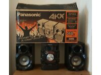 Panasonic SA-AKX18 Bluetooth HiFi Stereo System ** LIKE NEW**