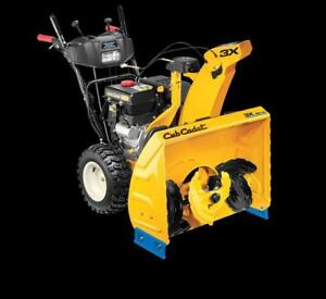 Cub Cadet 3X28HD SNOWBLOWERS  WAREHOUSE SALE - save $400.00 - NOW ONLY $1499.00
