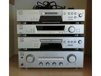 Sony Hi Fi Separates - Cd - Minidisc - AMP in Silver