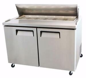 Salad/Sandwich Tables-Brand New-Stainless Steel-----Amazing Deals!!!
