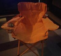 Childs fold up chair