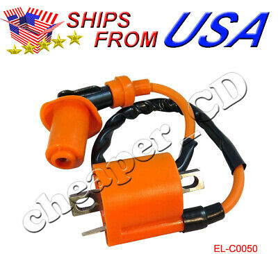 High Performance Ignition Coil For Yamaha Zuma CW50 Scooter 1997 1998 1999-2013