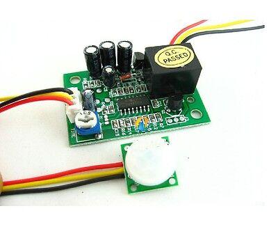 12v Pir Ir Pyroelectric Infrared Module Adjustable Relay Output Sensor