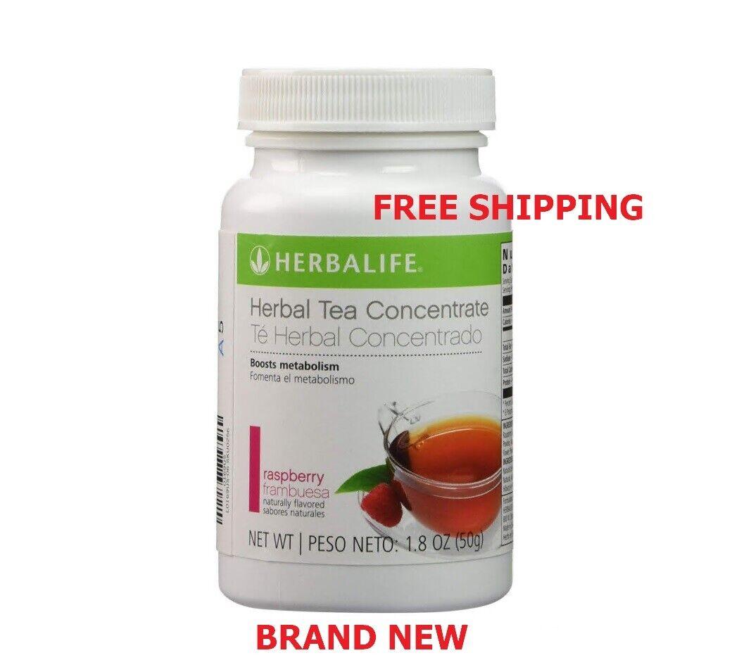 Herbalife Herbal Tea Concentrate Raspberry Flavor 1.8 OZ - FREE SHIP !!!!!