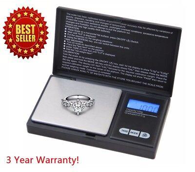 Digital Scale 1000g x 0.1g Jewelry Herb Silver Coin Gram Professional Mini Scale