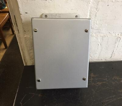Mckinstry Electrical Jic Enclosure Cat No. 50sc-863 8h X 6 W X 3.5d