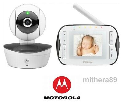 Motorola MBP41s DIGITAL VIDEO BABY MONITOR - Infrared Night Vision ZOOM PAN TILT