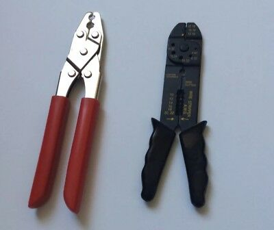 Wire Cutterstripper Crimper Hand Tools Two Set Great Condition