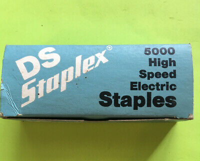 Nos Staplex-5000-ds High Speed Electric Staples-free Shipping