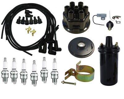 Ih Farmall 460 560 606 656 660 666 686 Tune Up Kit 12v Coil Usa Copper Wires