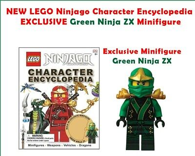 LEGO Ninjago Character Encyclopedia EXCLUSIVE Green Ninja Minifigure BRAND NEW