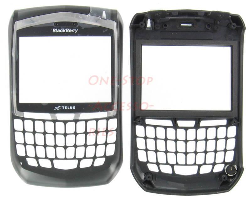 Telus OEM Original Blackberry 8703e 8703 Faceplate+Lens