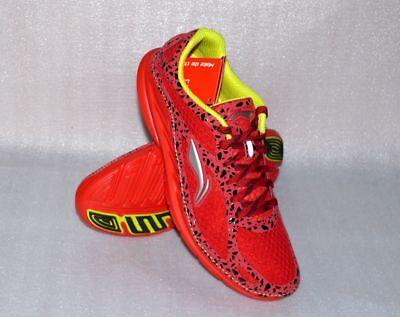 Lining C325 Hanf Tech Herren Sport Schuhe Running Form EVA Sneaker 43 US 9,5 Red ()