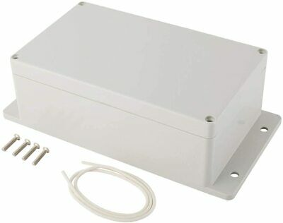 Plastic Junction Box Universal Electric Project Enclosure Ip65 Abs W Fixed Ear