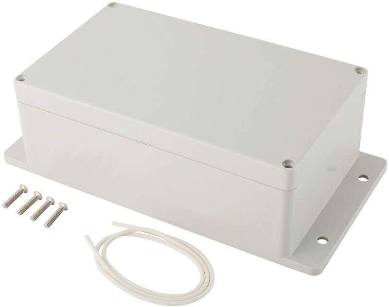 Plastic Junction Box Universal Electric Project Enclosure IP65 ABS w/ Fixed Ear