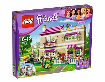 LEGO FRIENDS 3315 OLIVIA'S HOUSE ANNA PETER,  NEW SEALED IN BOX, 2012 RETIRED