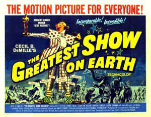 the greatest show on earth starring charlton heston dvd