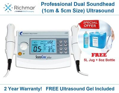 Soundcare Plus Clinical Ultrasound Professional Unit 1 3 Mhz Therapy Rehab