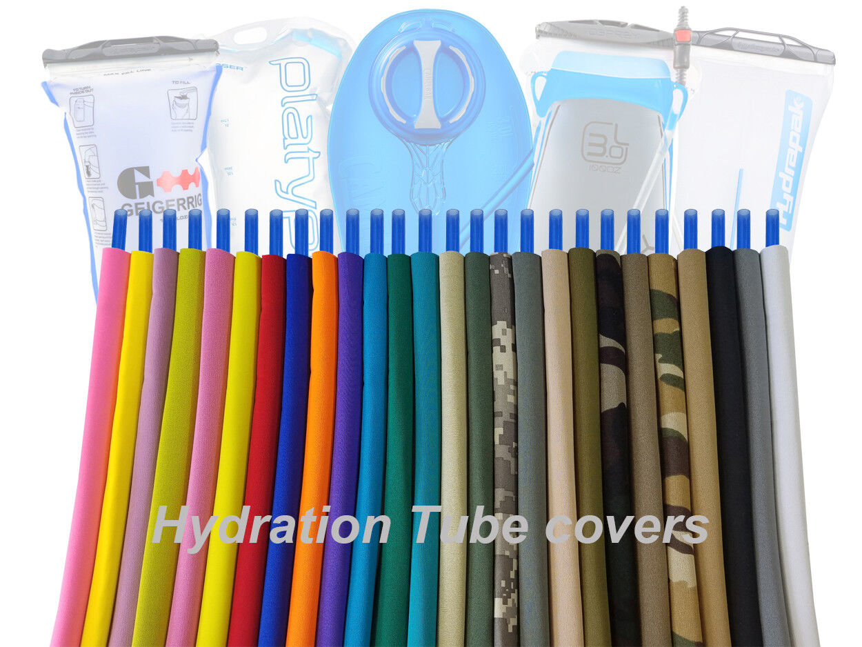 Hydration pack drink tube insulated hose cover sleeves.. for
