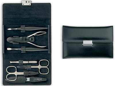 Niegeloh Leather Manicure Set Diabolo L (Solingen. Germany)