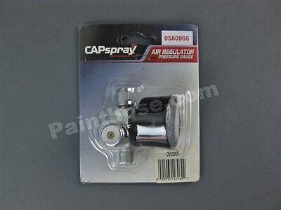 Titan Capspray 0550965 Or 550965 Air Regulator With Pressure Gauge - Oem