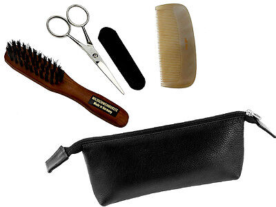 Premium Beard & Moustache Trimming Set by Hans Kniebes (Germany)