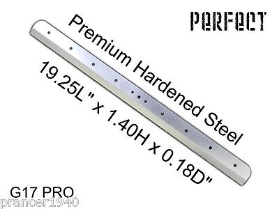 NEW CUTTING KNIFE BLADE FOR THE PERFECT G17 PRO PAPER CUTTER - 17""