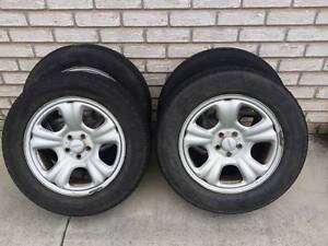 Subaru Forester 16 inch alloys set of 4 fairly mint conditon Ipswich Ipswich City Preview