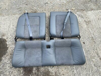Audi TT 3.2 V6 MK1 Grey suede LEATHER INTERIOR REAR SEATS bench 150 180 225